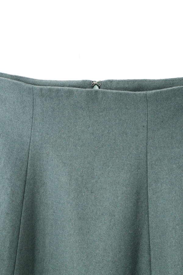 《BLANCHIC》サイド釦マキシスカート