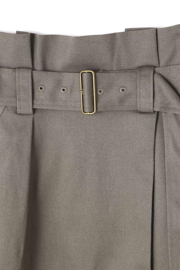 《BLANCHIC》リネンライクオックスマキシラップスカート