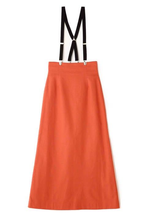 《BLANCHIC》麻ロングタイトスカート