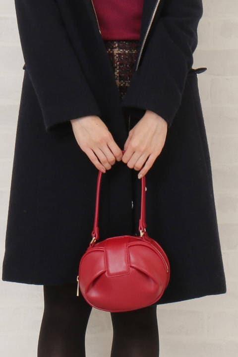 【CanCam1月号掲載】リボンハンドバッグ