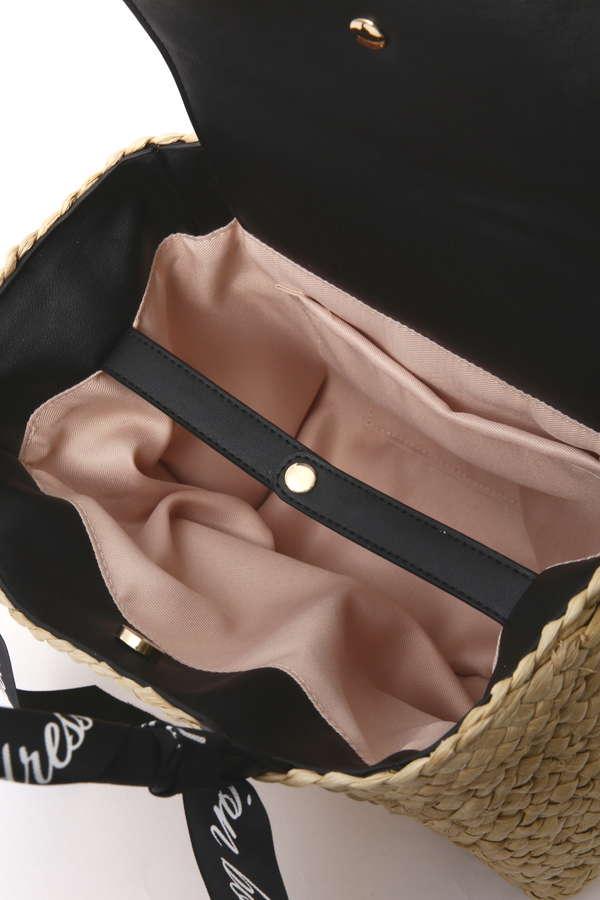 ロゴリボンメイズバッグ