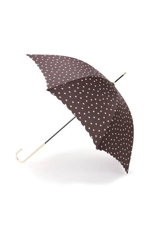 ハートドット長傘