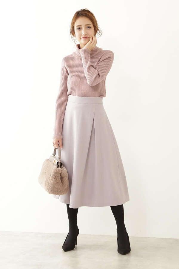 アシメタックフレアースカート