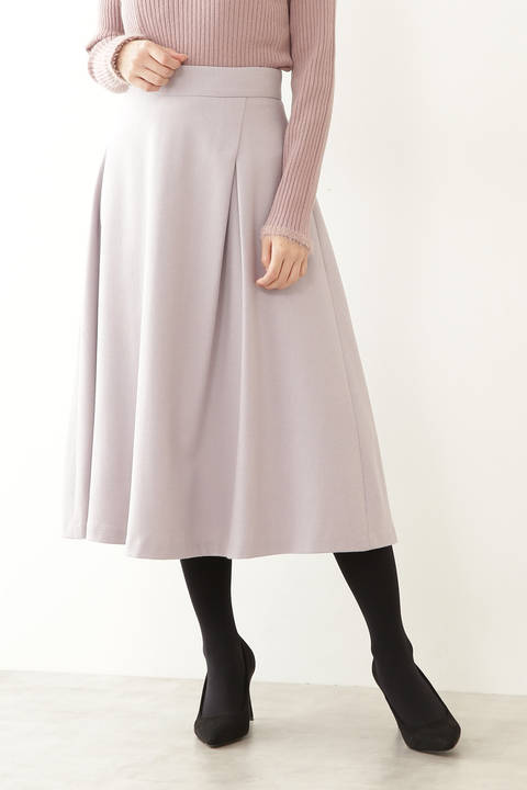 【先行予約12月上旬-中旬入荷予定】アシメタックフレアースカート
