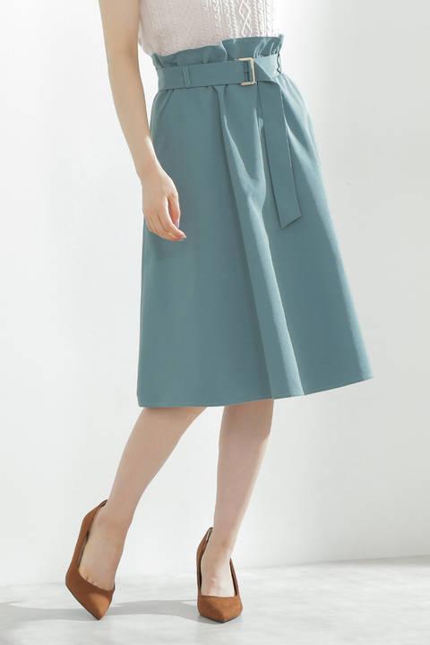 【先行予約8月上旬~中旬入荷予定】ツイルギャザースカート