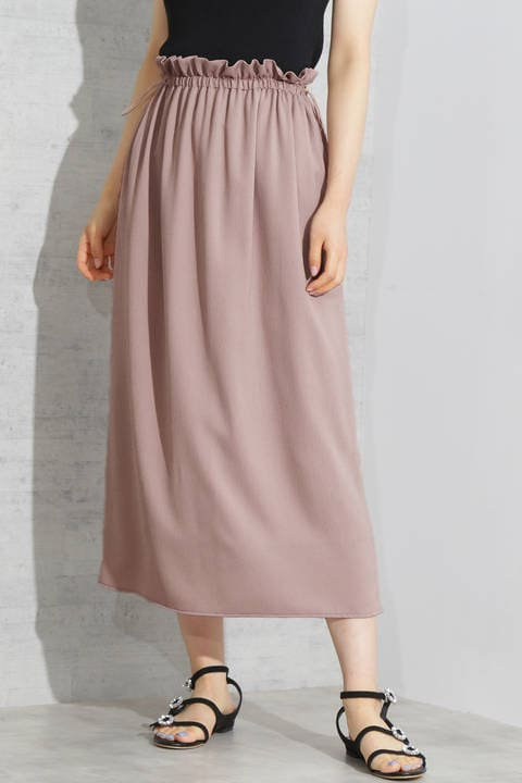 《EDIT COLOGNE》楊柳ギャザースカート