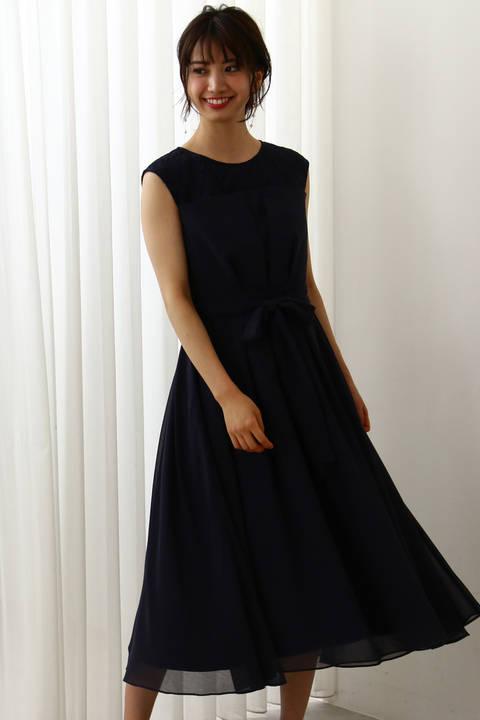 《Lou Lou Fee》デコルテレースドレス
