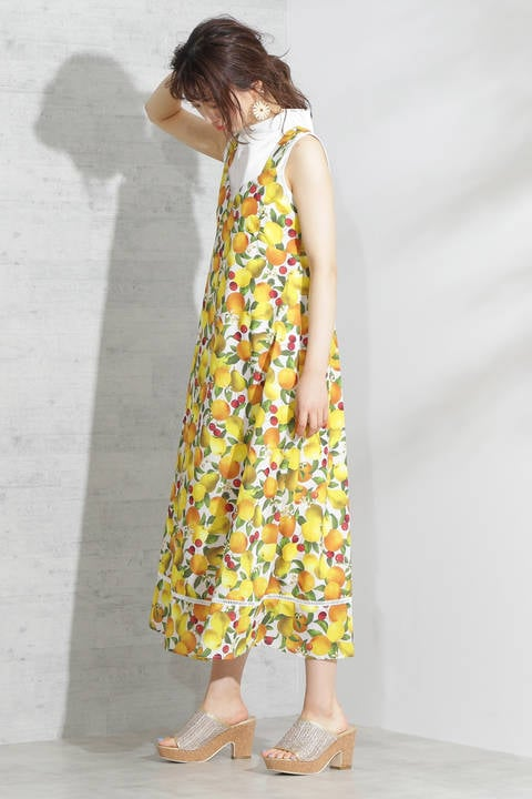 《EDIT COLOGNE》フルーツリゾートドレス