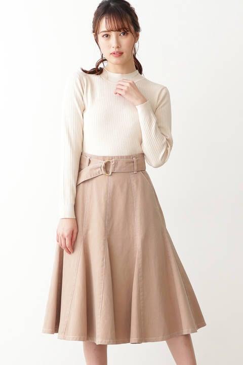 プレイフルデニムスカート