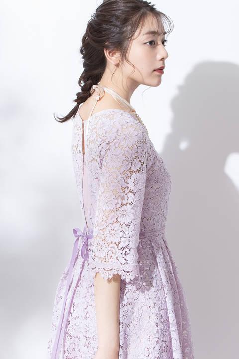 レイシーロングドレス