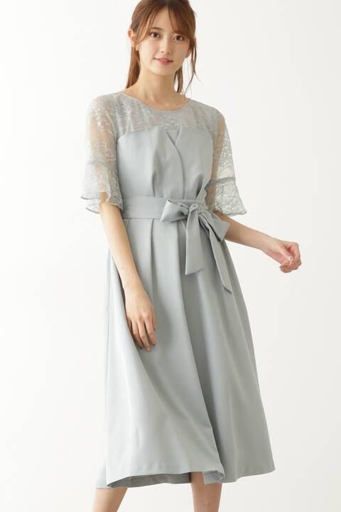 クロスビスチェドレス