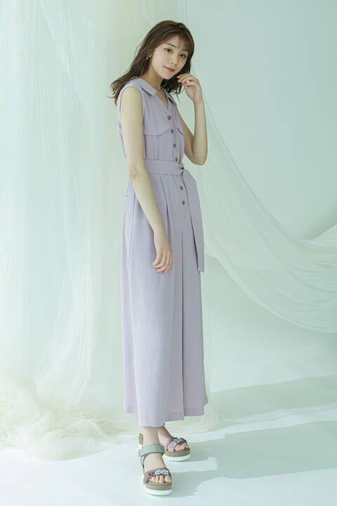 【堀田茜さん着用 美人百花6月号掲載商品】カイキンサロペット