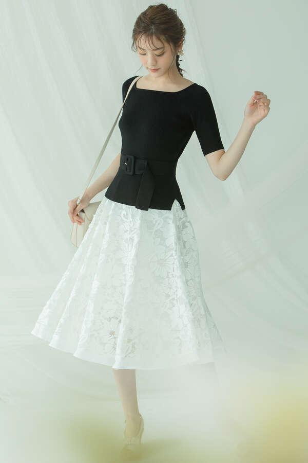 【堀田茜さん着用 美人百花6月号掲載商品】オパールレースセット