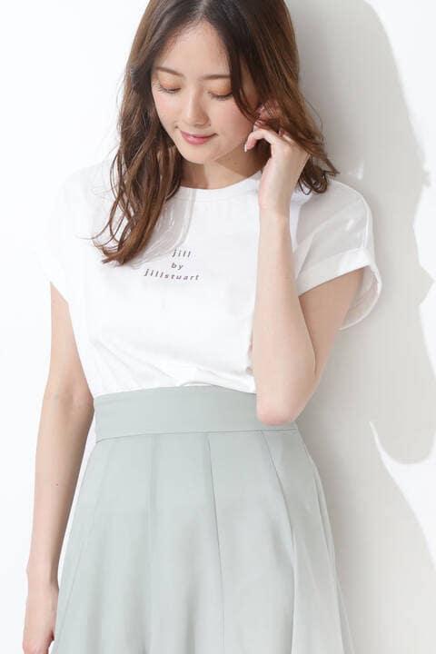 ミニロゴバックリボンTシャツ