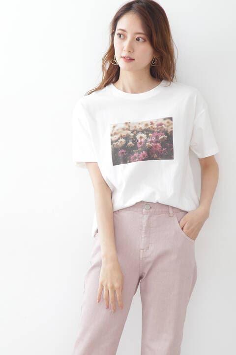 スローガンTシャツ(フォトT)