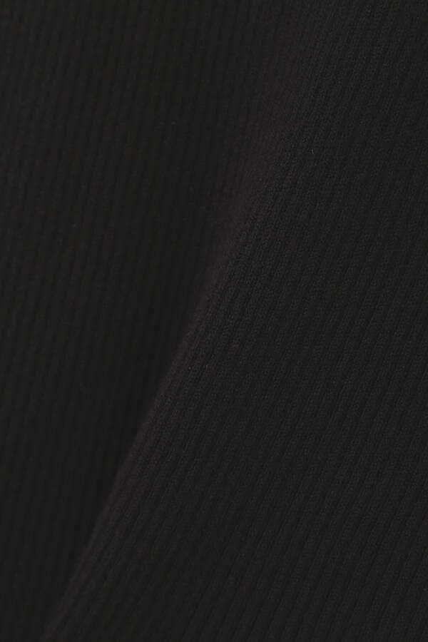 【田中 みな実さん着用 美人百花10月号掲載商品】リブベーシッククリスタルニット