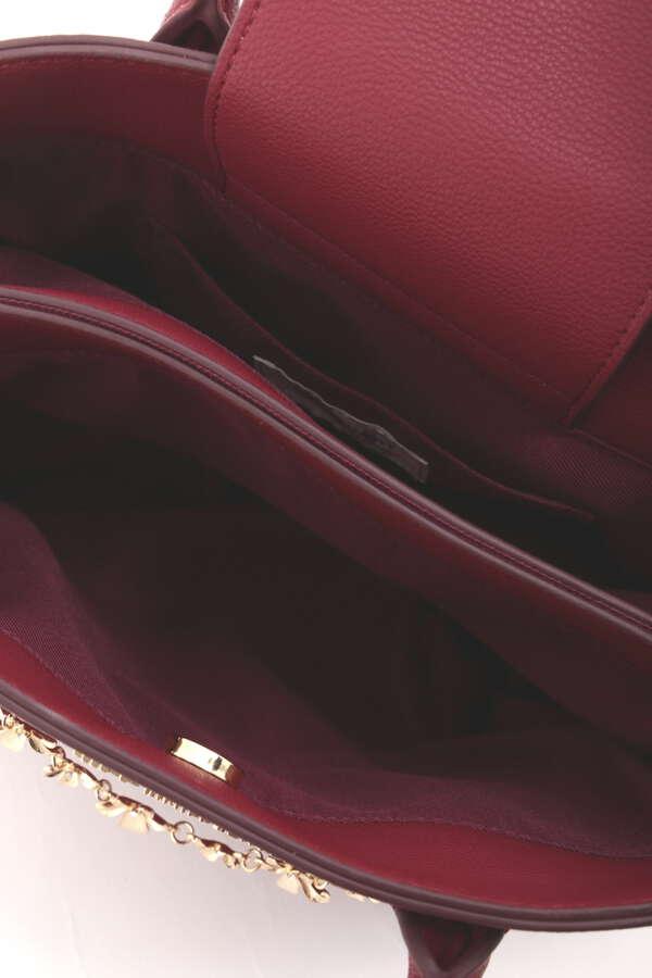 【田中 みな実さん着用 美人百花10月号掲載商品】KIRARIチェーントートバッグ
