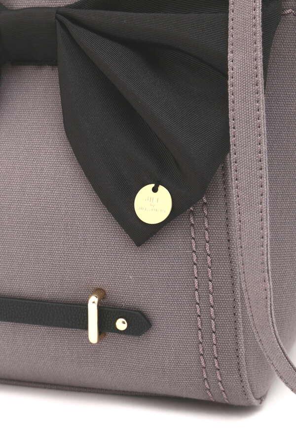 〈イニシャルカスタムシリーズ〉コンバーチブルリボントートバッグ