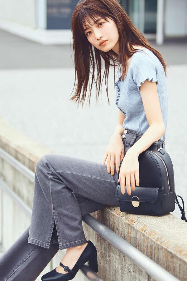 【田中 みな実さん着用 美人百花10月号掲載商品】センターシームパンプス