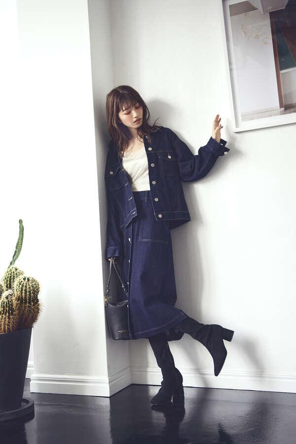 【道重さゆみさん着用 美人百花12月号掲載商品】ストレッチブーツ