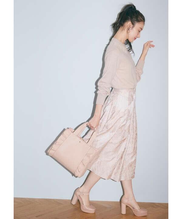 【田中 みな実さん着用 美人百花10月号掲載商品】レディプラットフォーム