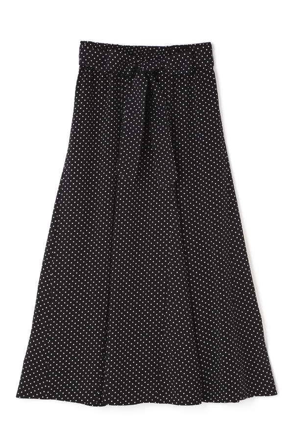 ドレープロングスカート