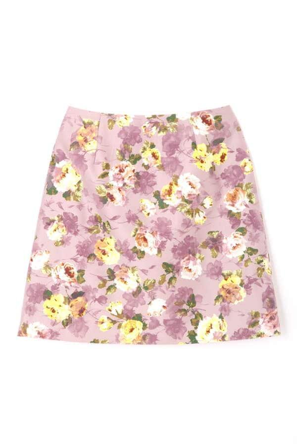 【CanCam 1月号掲載】ガーデン ブルーム 台形スカート
