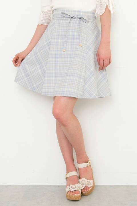 【Ray 5月号掲載】サマープレイドフレアスカート