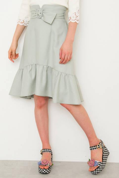 【Ray 5月号掲載】【CanCam 5月号掲載】カラーマーメイドスカート
