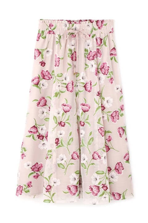 【Ray 6月号掲載】【CanCam 5月号掲載】【Ray 5月号掲載】ディボアティーローズスカート