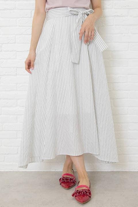 【先行予約_5月中旬-5月下旬お届け予定】ラップロングスカート
