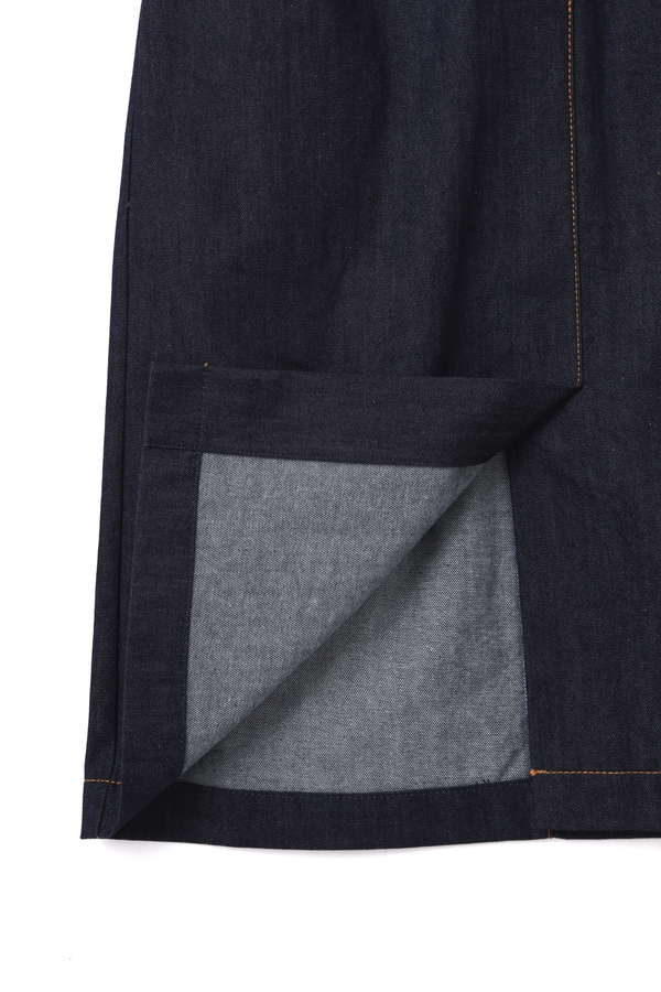 【Ray 5月号掲載】【神戸コレクション着用】ピナフォア カラーデニムワンピース
