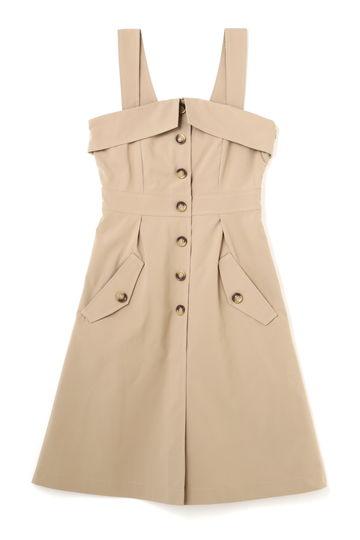 TRENCH APRON DRESS