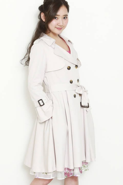 ドレス トレンチ