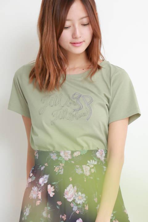 ジルロゴ×リボンTシャツ