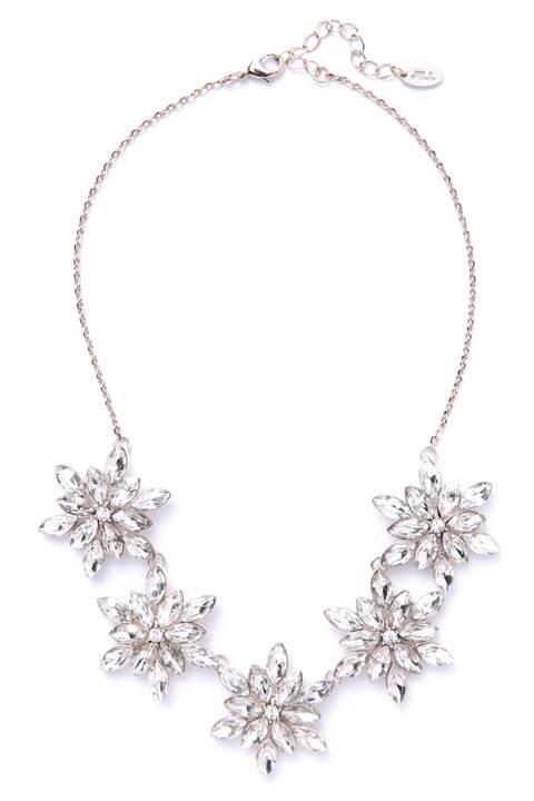 フォーチューンクリスタルアクセサリー(花)ネックレス