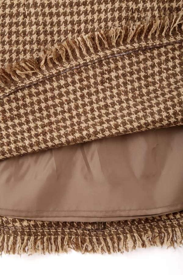 レトロツイードジャンパースカート