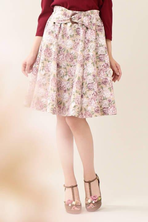 グログランウォールペイパースカート
