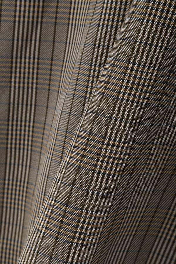 トレンチフレアスカート