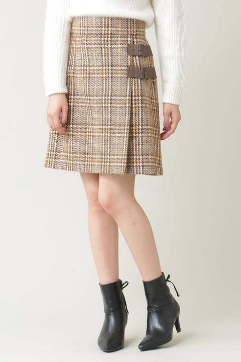 【sweet11月号掲載】ローヴィングチェックスカート