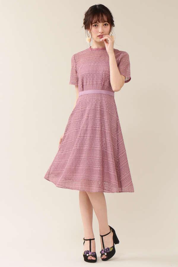 レーシーボトルドレス