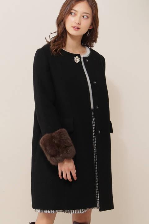 【Ray2月号掲載】ロマンティックカルゼノーカラーコート