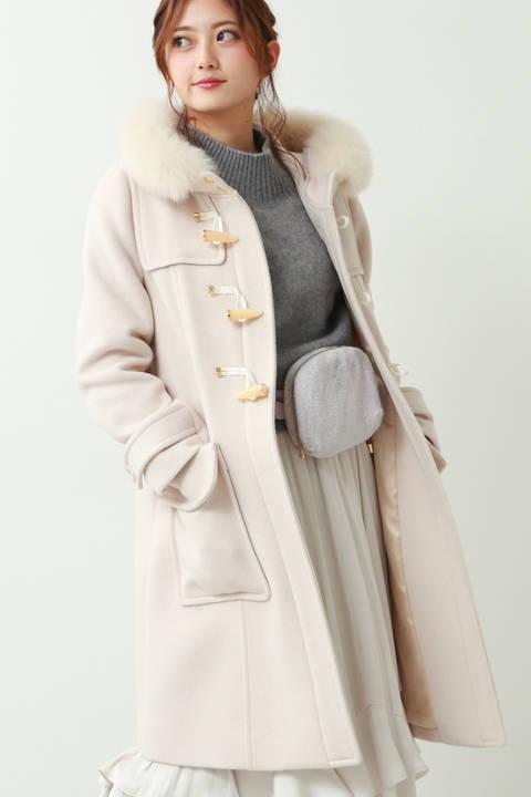 【sweet11月号掲載】フロッシーモッサダッフルコート
