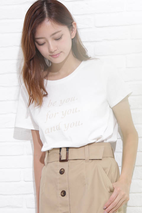 フロックロゴTシャツ