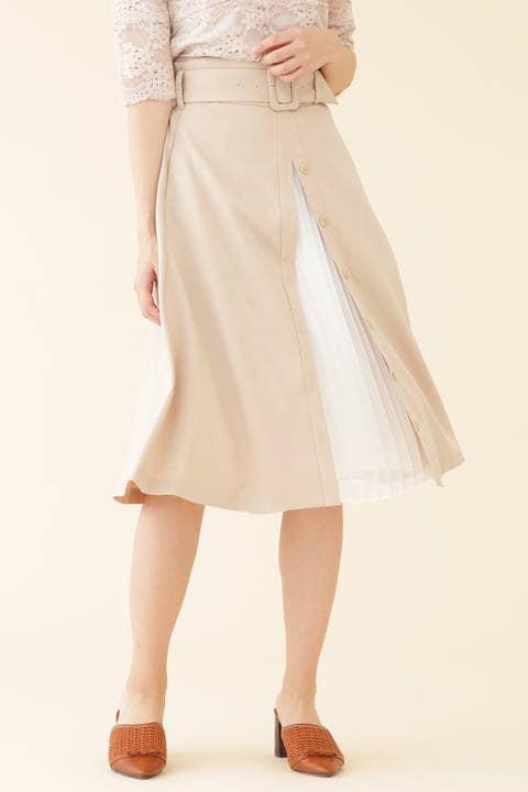 チラミセプリーツスカート