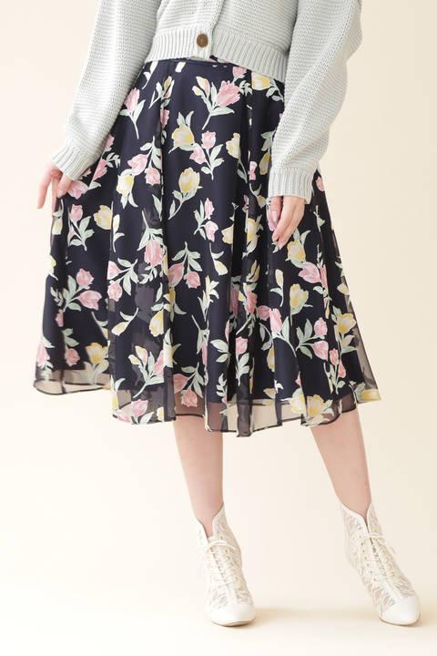 ディボアチューリップスカート