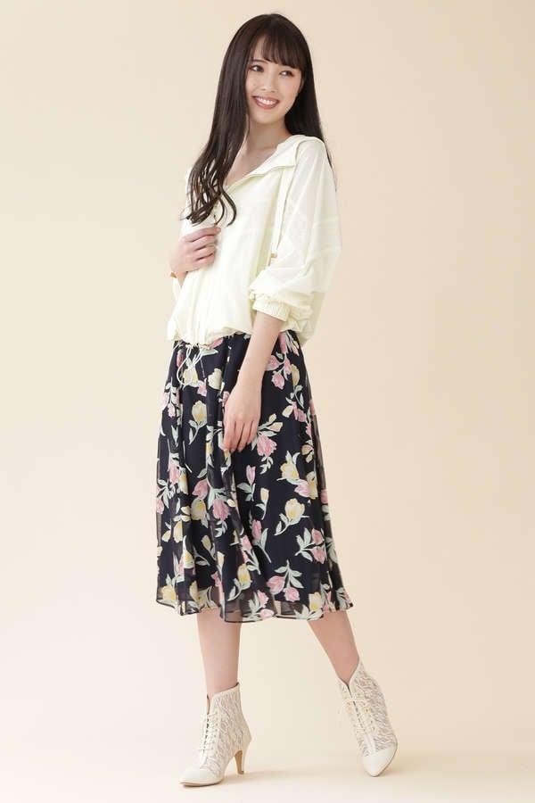 【美人百花3月号掲載】ディボアチューリップスカート