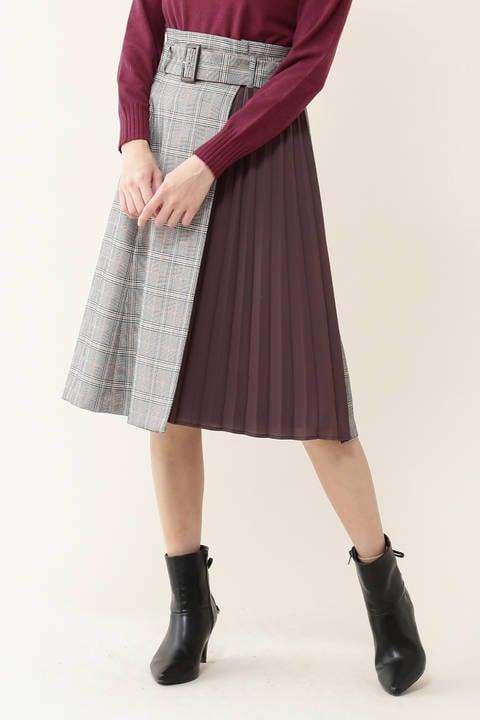 チェックバリエーションスカート