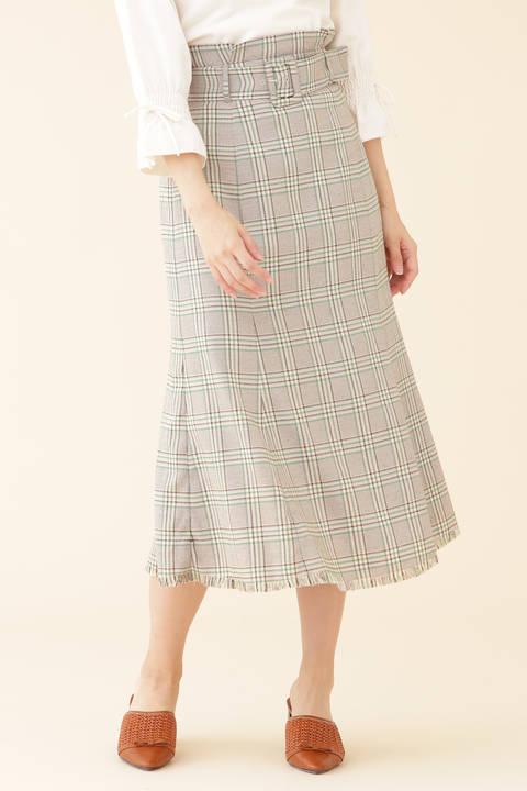 【CanCam 5月号掲載】フリンジマーメイドスカート