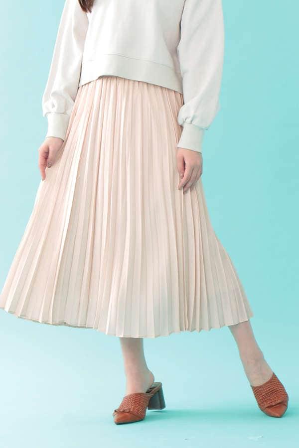 【Sweet 4月号掲載】シャイニープリーツスカート